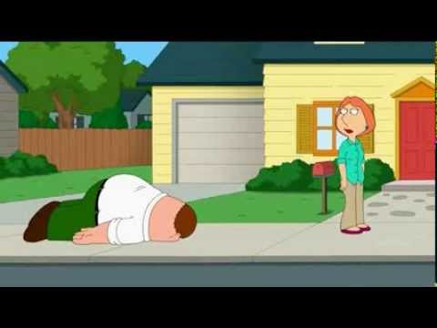 Family Guy Peter Chewing Gum