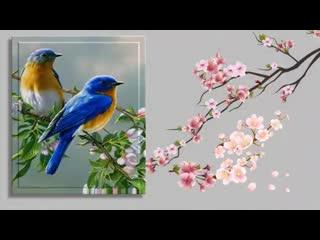 Поздравление с 8 марта. Вальс цветов