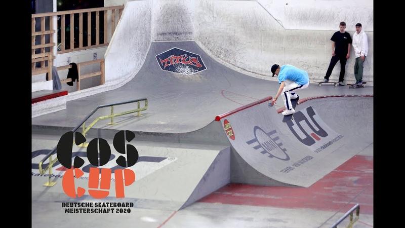 COS Cup 2020 Skatehalle Aurich Deutsche Skateboard Meisterschaft