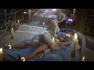 Lightforged draenei tektah world of warcraft wow 3d porn anal animated draenei