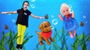 Штеффи в подводном мире Как вернуться Куклы Барби игры для девочек