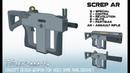 Tulen AKA 37 Screp AR Analogovnet weapon concept design