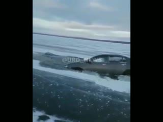 Первый лед и первый улов