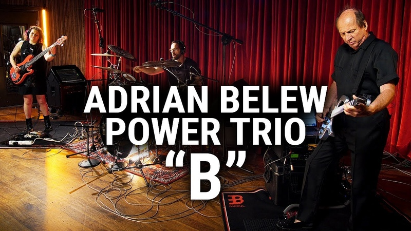 Meinl Cymbals The Adrian Belew Power Trio B