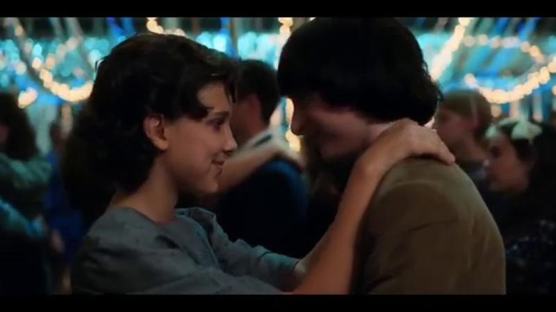 Stranger Things 2x09 Snowball Dance scene ending