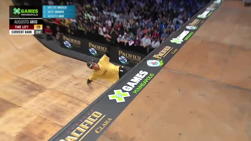 Pacifico Skateboard Vert (X Games Миннеаполис 2019)