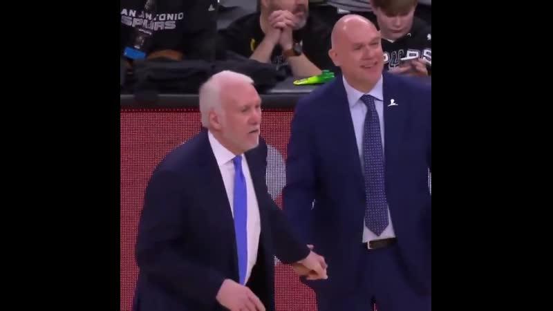 """""""Kyle... Kyle... f*ck you!"""" - Coach Pop 😂"""