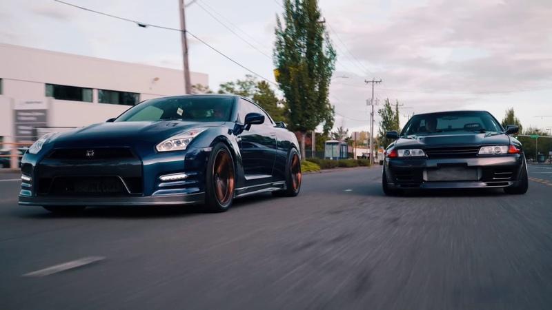 Teens and Their GTRs | R32 x R35
