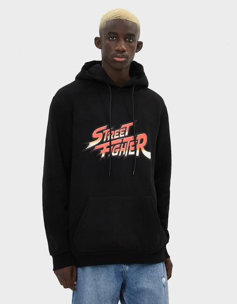 Худи с принтом Street Fighter