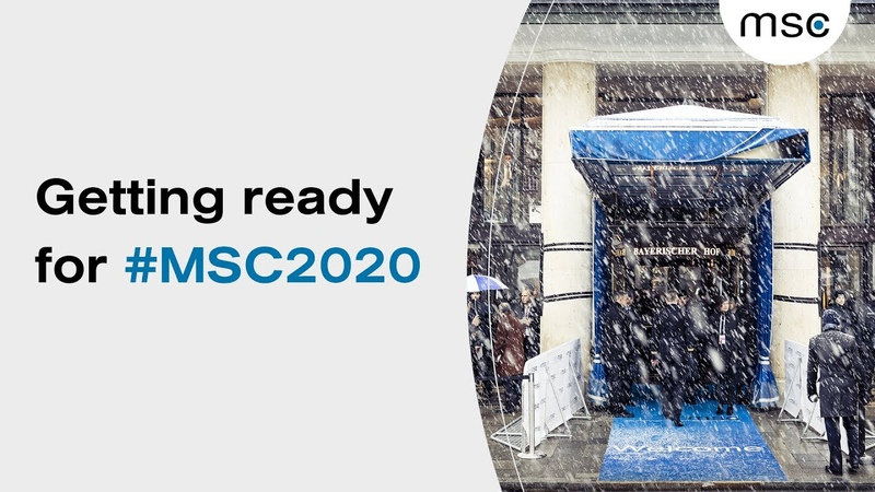 Facing universal threats together Looking ahead to the Munich Security Conference 2020