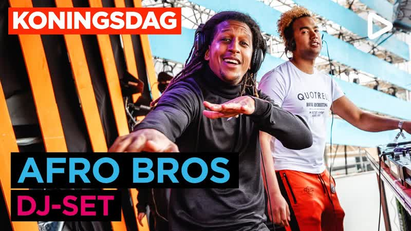 Afro Bros SLAM Koningsdag 2019