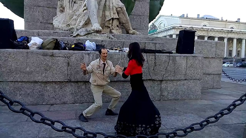 Джайв Бальные танцы 14 августа 2016 года на Стрелке В О