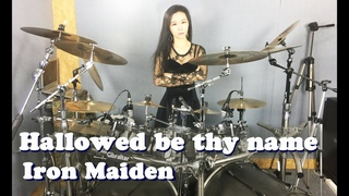 Iron Maiden - Hallowed be thy name drum cover by Ami Kim (#26)