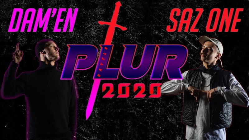 DAMIEN vs SAZ ONE | 1/8 | HIP-HOP 1x1 | P.L.U.R. 2020