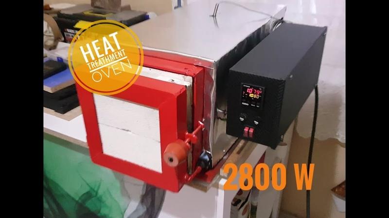 Isıl işlem fırını yapımı - Heat treathment Oven making - knife making