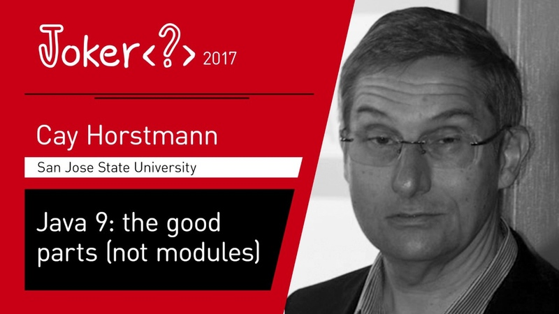 Cay Horstmann Java 9 the good parts not modules