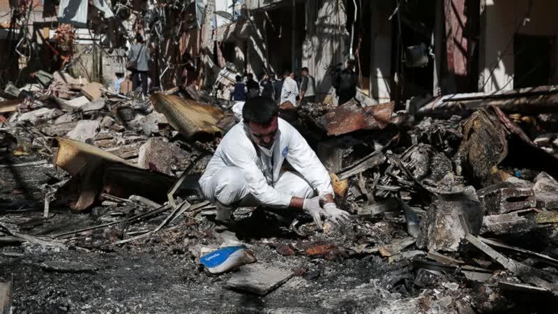 Oct 2016 Saudi Bomb a Yemen Funeral