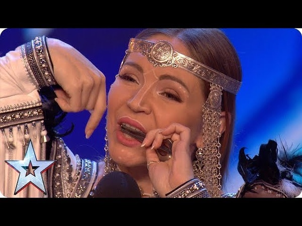 Will jaw harpist Olena be galloping through with her unique HORSE noises Auditions BGT 2018