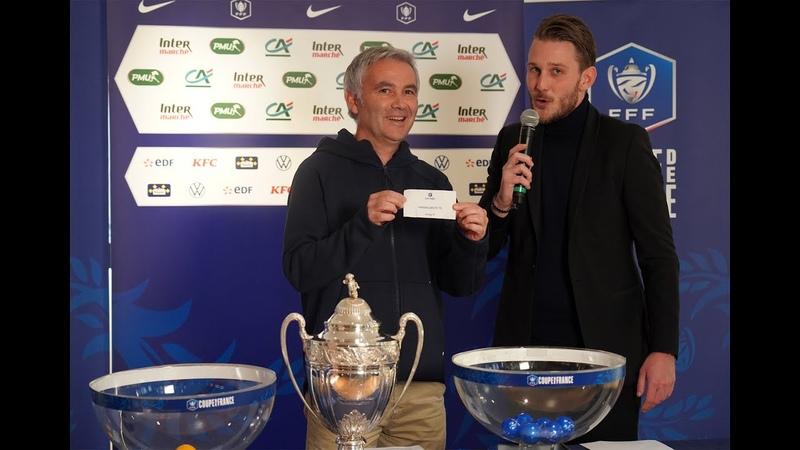 Le tirage du 7e tour pour les clubs d'outre mer I Coupe de France 2019 2020