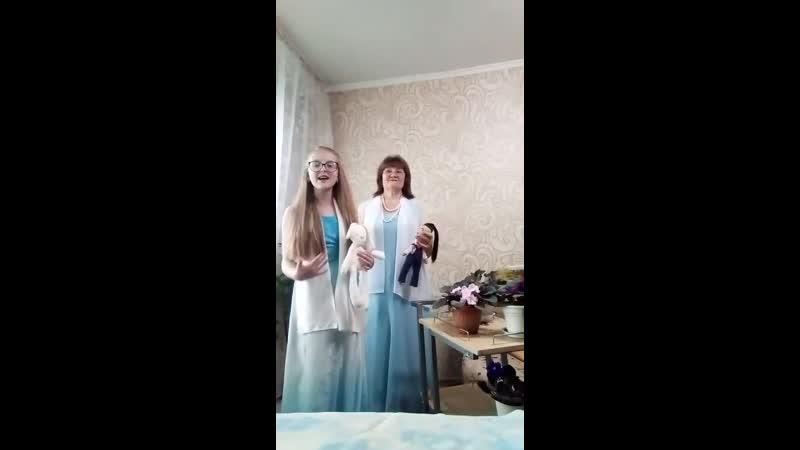 Ольга рафальская и София Прус Аист на крыше г Уссурийск