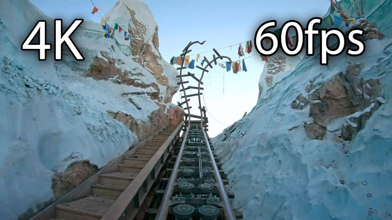Expedition Everest front seat on ride 4K POV @60fps Disney's Animal Kingdom