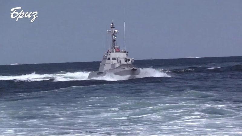 7 й новозбудований артилерійський катер прибув до Одеси