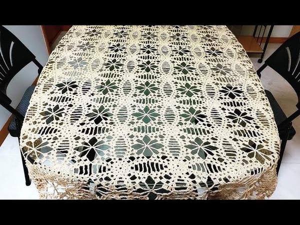 LasMaravillasdelCrochet ganchillo Motivos a Crochet para Mantel, Centro ó Camino de Mesa