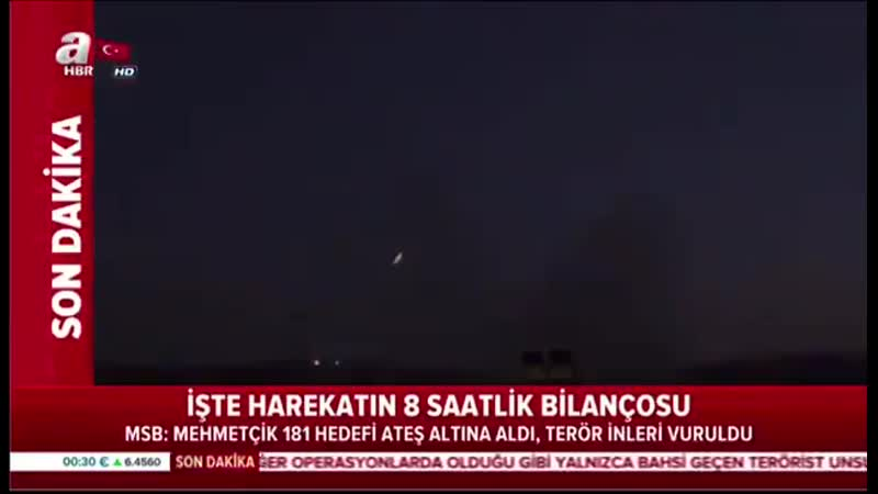 Удары турецкой РСЗО T 122 Sakarya по курдам