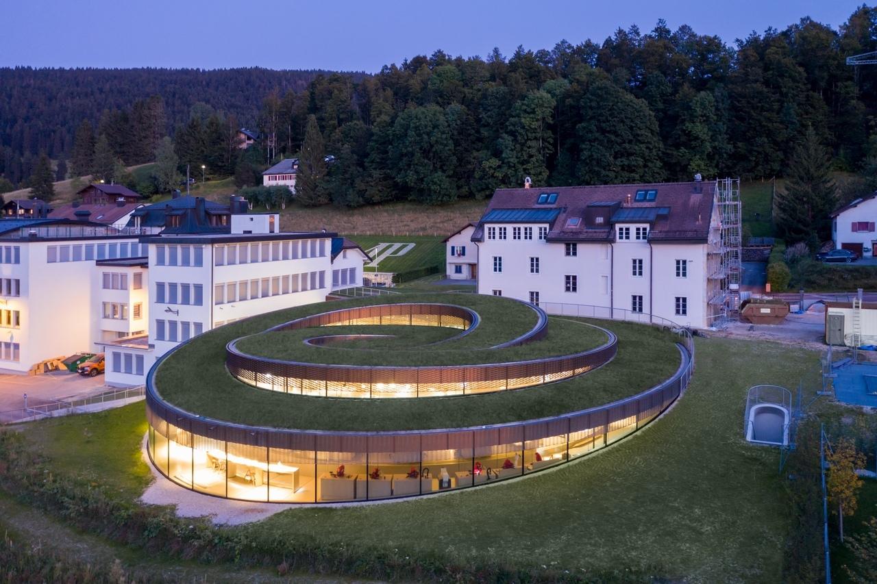 Мастерская-музей часовщиков Audemars Piguet в Швейцарии