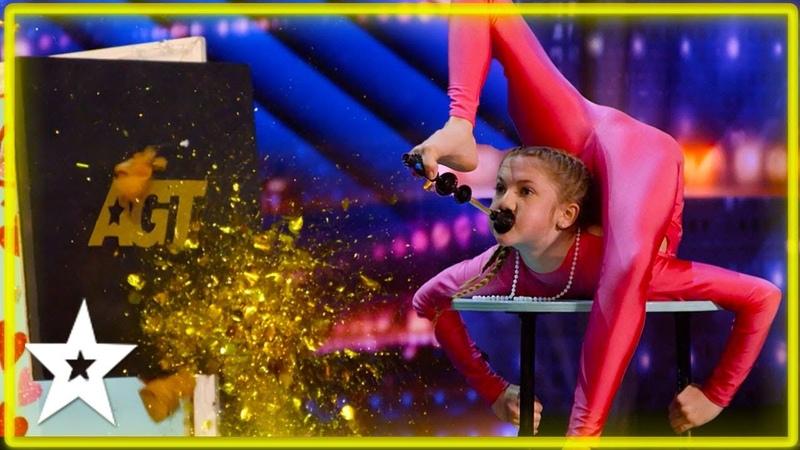 WOW! Best Contortionist on Americas Got Talent! | Kids Got Talent