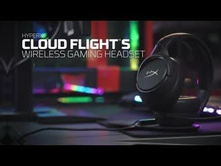 Cloud Flight S  беспроводная игровая гарнитура для PS4 и ПК
