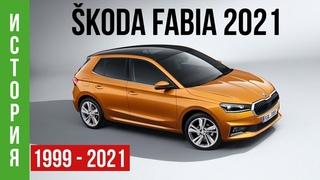 SKODA FABIA 2021: История модели и обзор новинки