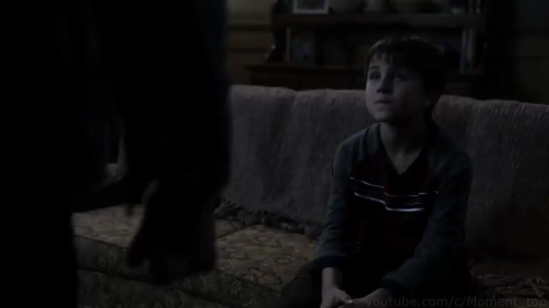 Антихрист Джесси Тёрнер спасает Сэма и Дина от демона Сверхъестественное