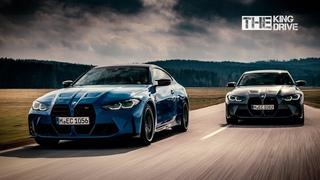 BMW раскрыла характеристики полноприводных M3 и M4 и они быстрее Audi RS6 // Lexus ES 2021