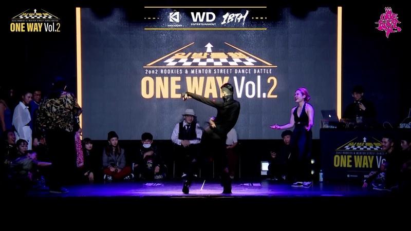 WacoonJemin VS Waackxxy48149혜민 | ONEWAY Vol.2 | Waacking Quarter Final