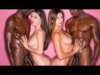 YUTCH СЕСТЕР ЖЕСТКО ОТЪЕБАЛИ ОХРАННИКИ Lana Rhoades, Leah Gotti ГРУППОВОЕ ЧЕРНЫЕ BLACK PORNO SEX ORAL