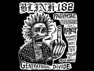Blink 182 - Generational Divide (LIVE)