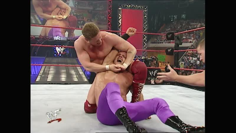 WWF Raw Is War 16 04 2001 Chris Benoit vs William Regal