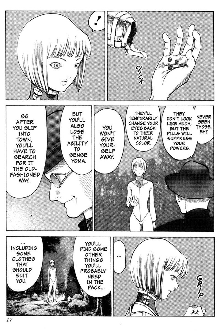 Claymore, Chapter 5, image #16