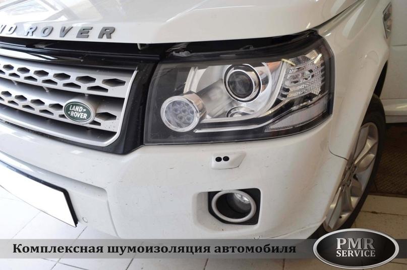 Комплексная шумоизоляция Land Rover Freelander 2, изображение №2