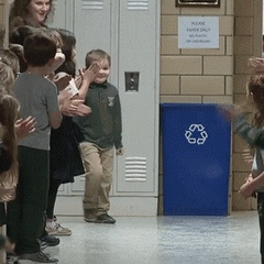 6 Year Old Finally Beat Cancer After A Three Year Battle! GIF by aryak11 | Gfycat