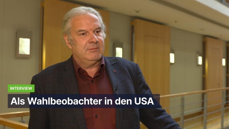 Völlig irre! – MdB Andrej Hunko war als Beobachter bei den US-Wahlen