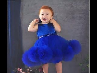 Нарядное Детское Платье Cвоими Руками как пошить мк ч.2 / baby dress diy p.2