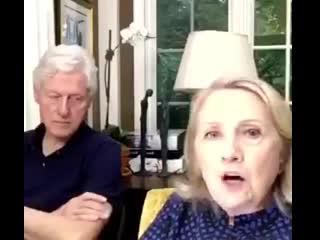 Хиллари Клинтон болтает о России