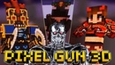 Pixel Gun 3D - 10 TERMINATOR 💀 GOD MODE Duels 😈