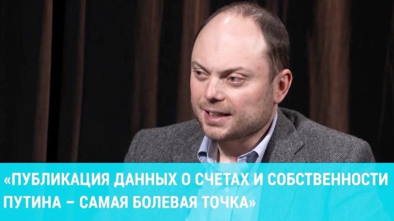 Кара Мурза про доклад об активах Путина