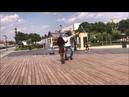 Молодая Девушка Танцует С Парнем В Центре Москвы 2019 Лезгинка ALISHKA AIDA Чеченская Песня Aida