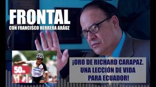 ¡ORO DE RICHARD CARAPAZ. UNA LECCIÓN DE VIDA PARA ECUADOR!
