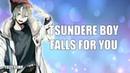 Tsundere Boy Falls For You - ASMR