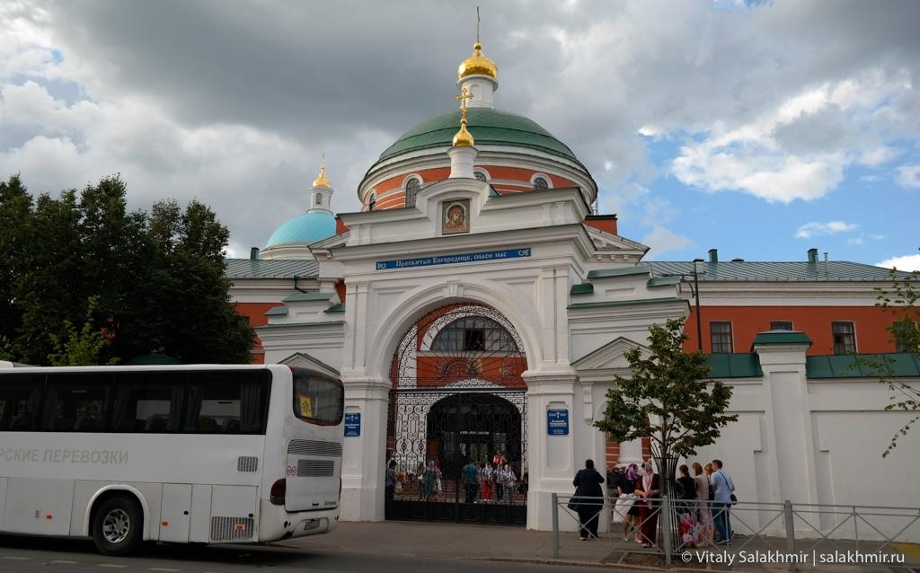 Богородицкий мужской монастырь, Казань 2020